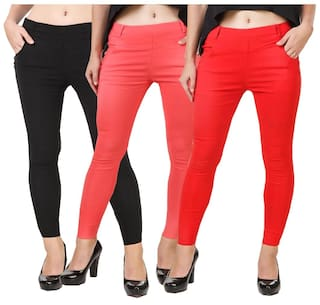 women lycra cotton World New for Kritika jegging x7Fv8