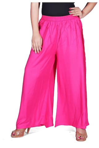 Casual palazzo Trouser Lifestyle Solid Krizler Women's Designer For Wear Bx7tqRw6Rn