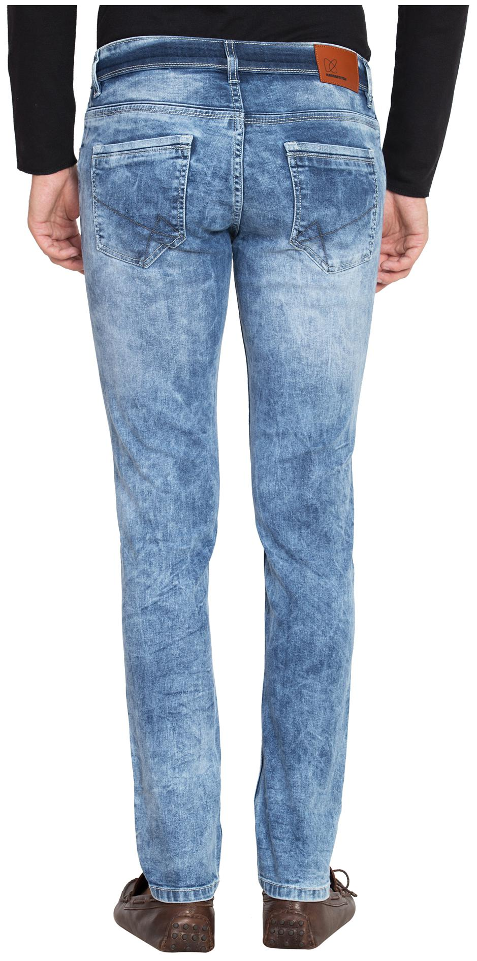 Buy KROSSSTITCH Men Mid Rise Regular Fit ( Regular ) Jeans - Blue Online at  Low Prices in India - Paytmmall.com 8ce168f2486