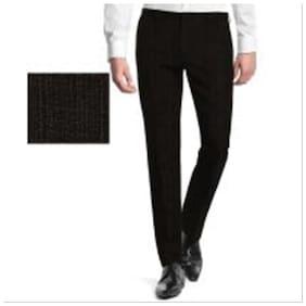 Kundan Cotlook Black Unstitched 1 pcs Trouser Fabrics Of 1.30 m Cut