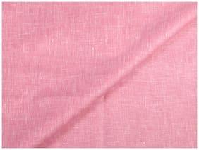 Kundan Men's Executive Pink Linen Shirt Fabric