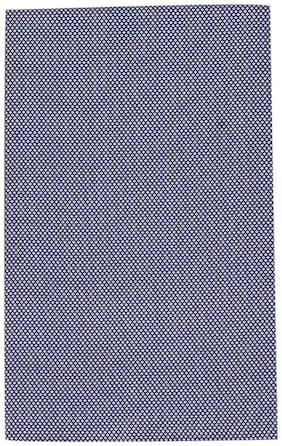 Kundan Men's Executive Pure Cotton Blue Printed Shirt Fabric ( 1 Shirt Piece for Men )
