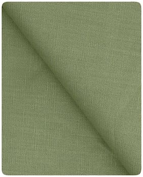 Kundan Men's Executive Linen Blended Pure Cotton Shirt Fabric ( 1 Shirt Piece for Men )