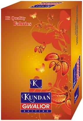 Kundan Poly Viscose Cream Color 1 pcs Unstitched 1.20 Cut Paint pcs