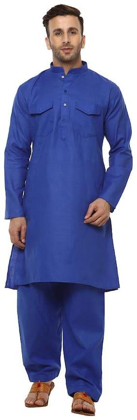 Men Cotton Kurta Pyjama