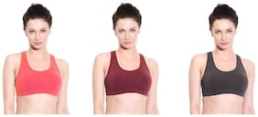 La Melodia Sports Bra Combo of 3