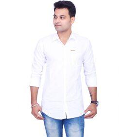 La Milano Casual White Shirt