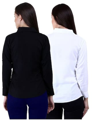 SHIRT FORMAL PACK 2 OF COMBO LADIES p5q4xfwO4