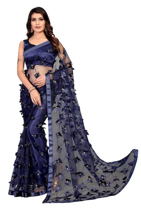 Net Bollywood Saree ,Pack Of 1