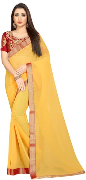 Chiffon Universal Saree ,Pack Of 1