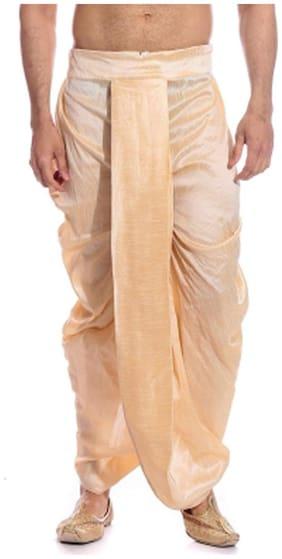 Men Blended Striped Dhoti