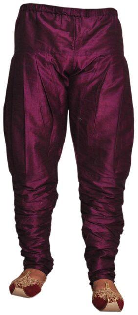 Larwa Purple Silk Pyjama