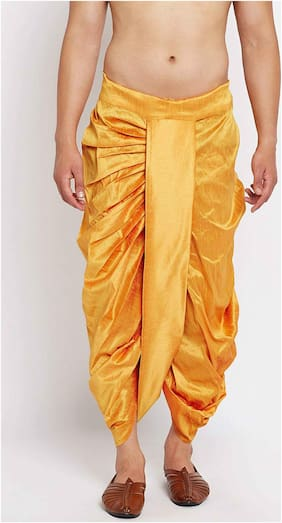 Men Blended Solid Dhoti ,Pack Of 1