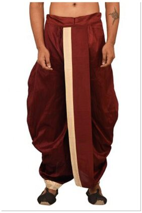 Larwa Solid Men's Ethnic Dhoti