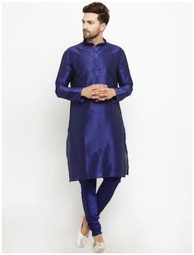 Men Solid Regular Fit Kurta ,Pack Of Pack Of 1