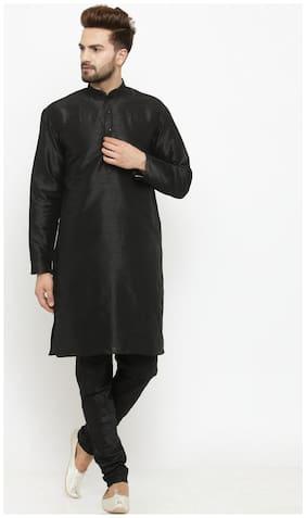 Larwa solid men's kurta pyjama set special for festive;wedding;ceremony