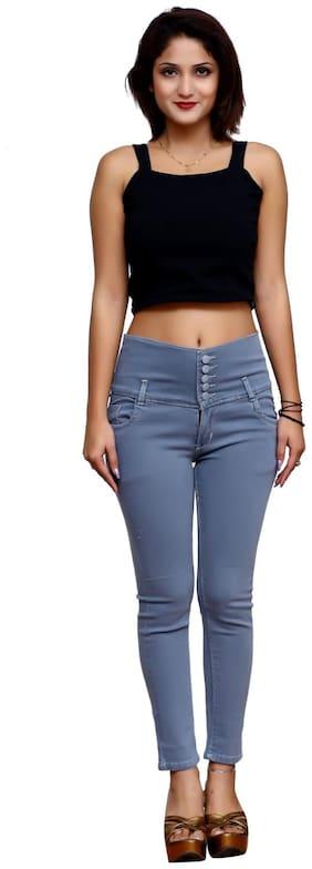 LAUGHING GIRL Women Grey Slim fit Jeans