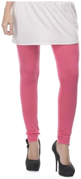 Lavennder Pink Cotton Lycra Legging