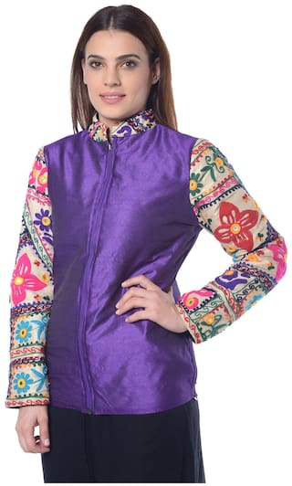 Jacket Silk Lavennder Purple LaguT