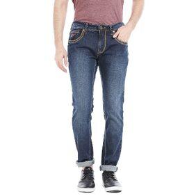 Lawman Pg3 Men's Mid Rise Regular Fit Jeans - Blue