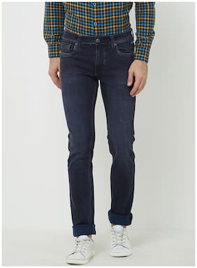Men Slim Fit Mid Rise Jeans ,Pack Of Pack Of 1