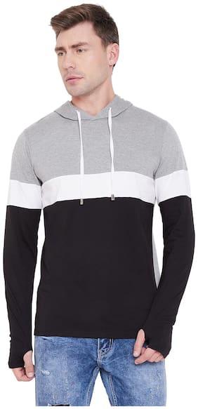 Men Colourblocked Sweatshirt ,Pack Of Pack Of 1
