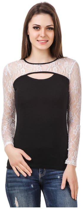 Round Neck Top ,Pack Of 1