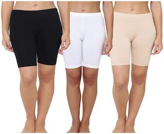 Leading Lady Women Solid Regular shorts - Multi