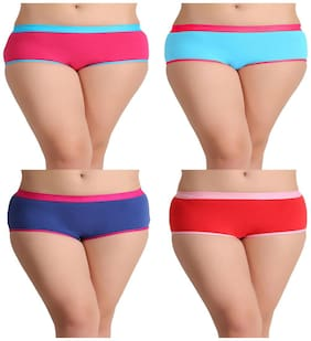 Leading Lady pack of 4 pcs boy shorts