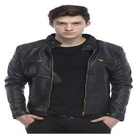 Men Leather Biker Jacket