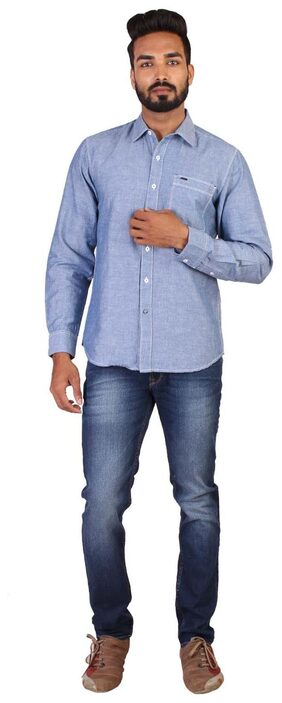Lee Men's Shirt - Blue