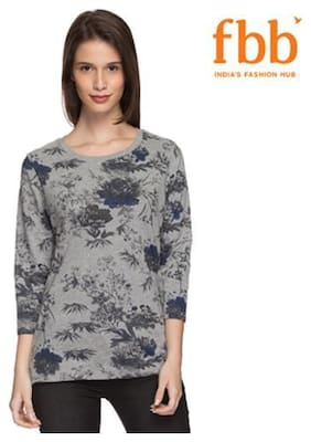 LEE COOPER Floral Print Womens Sweater
