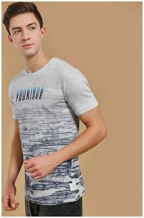 Men Crew Neck Printed T-Shirt