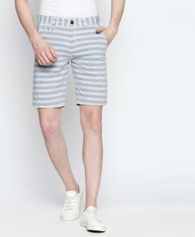 Lee Cooper Men Cotton Shorts - Blue
