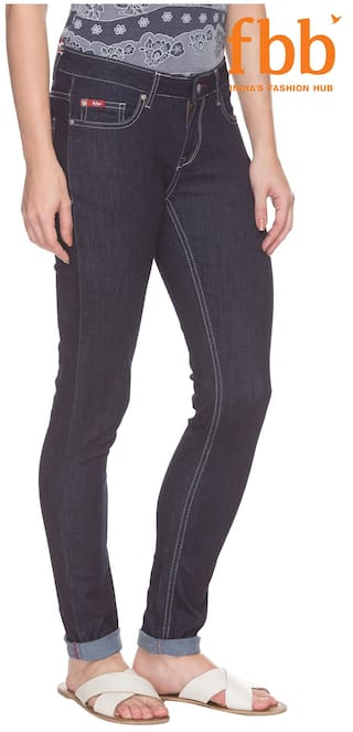 Jeans Lee Fit Cooper Slim Blue Women's wqHwURfZx