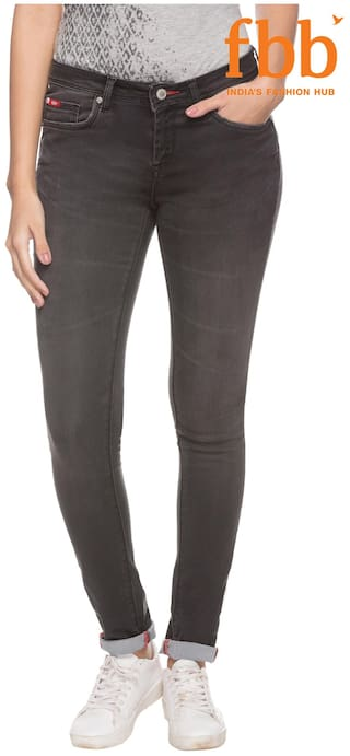 Lee Cooper Slim Fit Women's Black Jeans