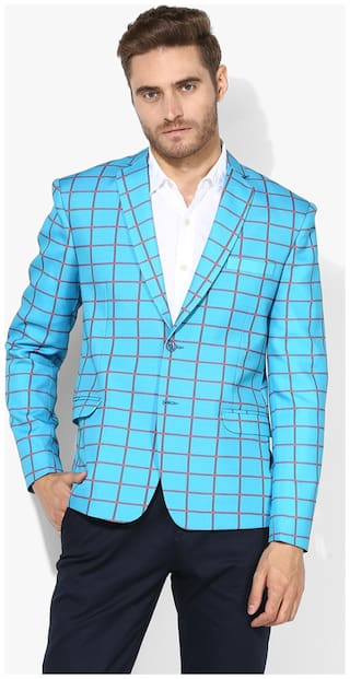 Hangup checkered blazer for daily use