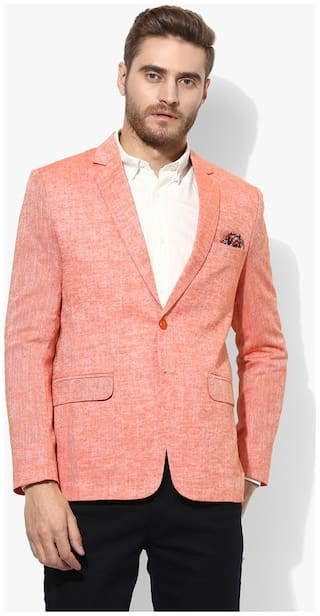 Hangup linen blazer for daily use