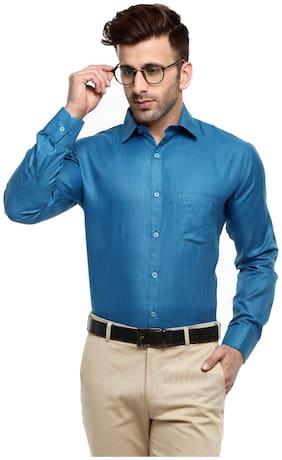 Hangup Men Slim Fit Formal Shirt - Multi