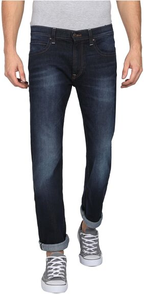 Lee Men Mid Rise Slim Fit ( Powell ) Jeans - Blue