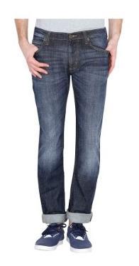 Lee Men Mid Rise Slim Fit ( Powell ) Jeans - Grey