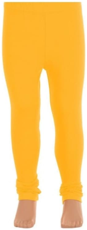 Leggings For Girls Yellow Leggings 100% Natural Stylish & Comfotable Fabric Easy wash & care