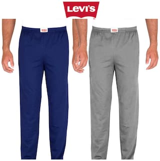 Levi's Men Cotton Solid Pyjama - Multi