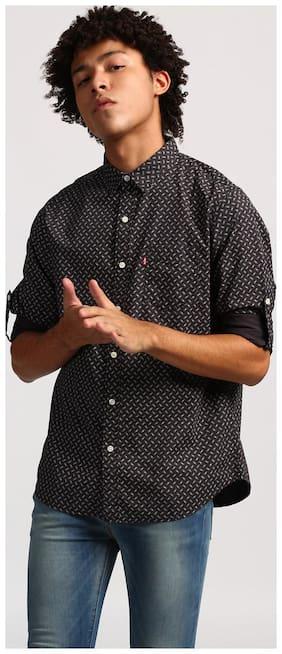Men Slim Fit Printed Casual Shirt
