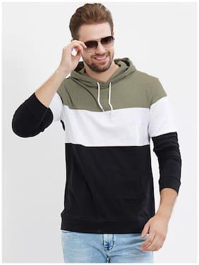 LEWEL Men Multi Regular fit Cotton Hood T-Shirt - Pack Of 1