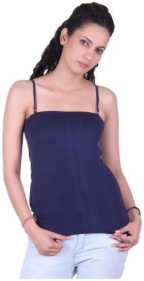 LIENZ Blue Cotton Camisole Slip