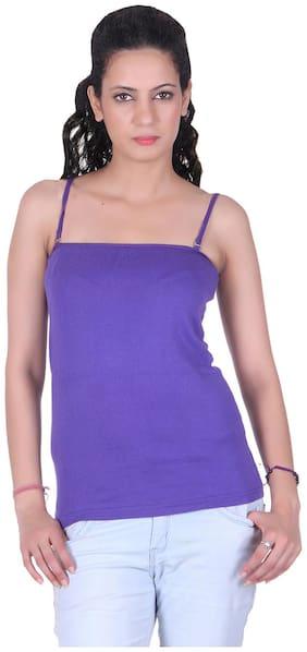 LIENZ Purple Cotton Camisole Slip