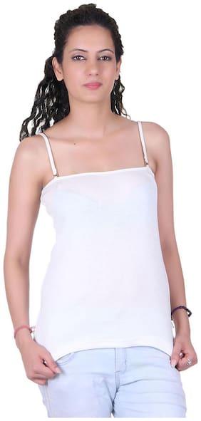 LIENZ White Cotton Camisole Slip