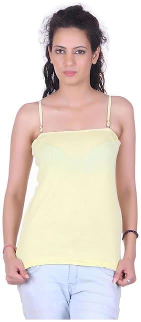 LIENZ Yellow Cotton Camisole Slip
