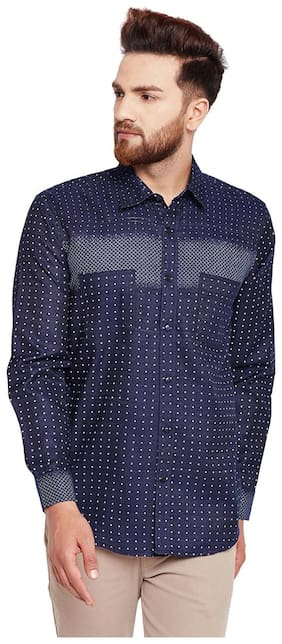 OXOLLOXO Men Regular Fit Casual shirt - Blue